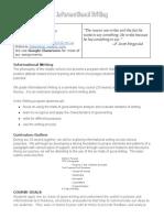 information writing syllabus 2015-16 salembier - google docs