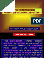 1.OBJETIVOS ORGANIZACIONALESf