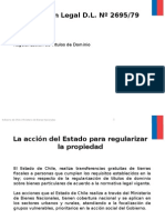 aplicaciones legales del decreto ley 2695 chile
