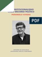 PIERANGELO SCHIERA - Constitucionalismo Como Discurso