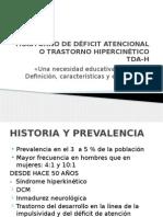 Trastorno de Déficit Atencional INTRO 9 de Mayo