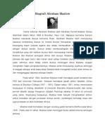 Teori Maslow Berkaitan Dengan Proses P&P