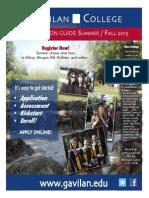 Gavilan College Registration Guide Summer / Fall 2015