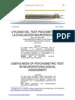 Evaluación Psicométricas