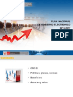 Plan Nacionalde Gobierno Electronico
