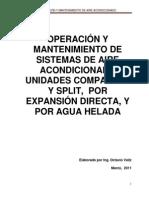 Operacion y Mant. Aa, Marzo 2011