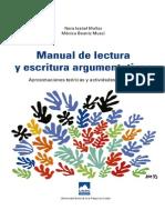 266294763 Manual de Lectura y Escritura Argumentativas Manual de Lectura y Escritura Argumentativas Aproximaciones Teo Ricas y Actividades Pra Cticas