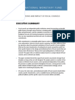 IMF - The Functions and Impact of Fiscal Councils