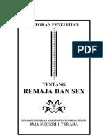 MAKALAH REMAJA DAN SEX