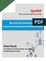 Recursos NO Convencionales-Exxon Mobile-Richard Chuchla