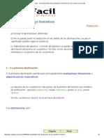 Curso Gratis de Latín I - Las Declinaciones de Los Sustantivos _ AulaFacil