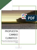 Propuesta Final Proyecto Cambio Climatico