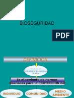 BIOSEGURIDAD [FISIOLOGÍA]
