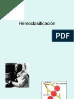 HEMOCLASIFICACIÓN