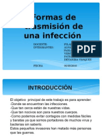 Formas Transmision Infeccion Grupo 3