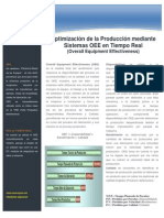OEE - Optimizacion de La Produccion
