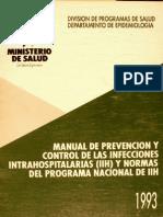 MANUAL DE PREVENCION CONTROL DE LAS INFECCIONES INTRAHOSPITALARIAS