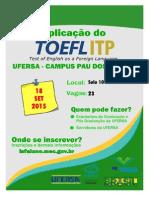 Divulgação - ToEFL - PDF