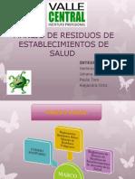 Manejo de Residuos de Establecimientos de Salud Grupo 5