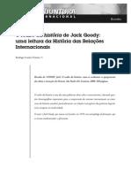 Sobre o Roubo Da História de Jack Goody