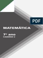7 Ano caderno 2 Matematica