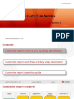 SC8005 Huawei Report Customize Service Presentation--Section 2