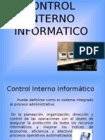 Control Interno Informatico Luisa FDA