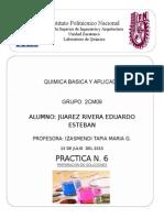 Quimica Practica 6