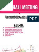 Rep. Tupola Town Hall Meeting on Sept 10, 2015 - Kalaeloa