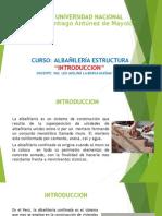 ALBAÑILERIA CLASES 01