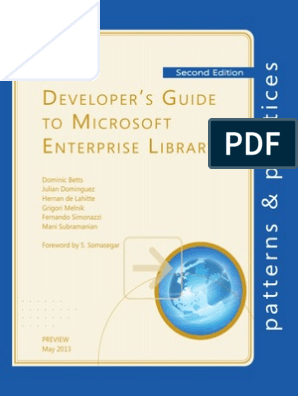 Developer's Guide to Microsoft Enterprise Library-Preview