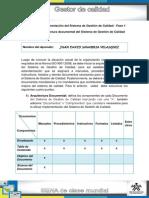 Unidad_2 _Arquitectura Documental Del Sistema de Gestión de Calidad - Juan David Sanabaria