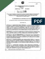 Decreto 1368 Abril 26 de 2010 Docentes Etnoeducadores