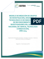 Documento Medicion Grupos - Investigadores Version Final 15-10-2014....
