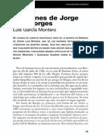 Lecciones de Jorge Luis Borges - Luis García Montero