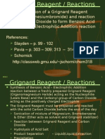Grignard Benzoic Rxn