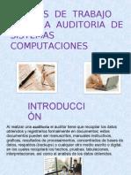 Exp. Papeles de Trabajo Para La Auditoria