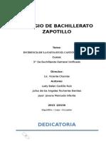 Monografia Palo Santo