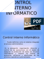 Control Interno Informatico