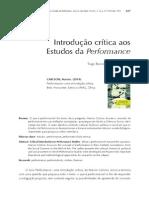 Introducao Critica Aos Estudos de Performace