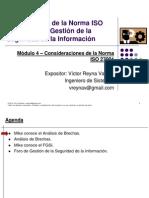 04. Consideraciones de La ISO27001
