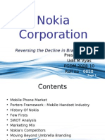 Presentation On Nokia Corp.