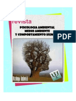 REVISTA PSICOLOGIA AMBIENTAL, MEDIO AMBIENTE Y COMPORTAMIENTO HUMANO