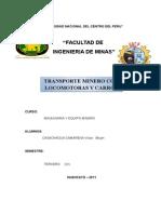TRANSPORTE MINERO