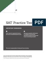 New Sat Practice Test 2