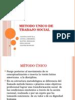 Metodo Unico de Trabajo Social Diapositivas