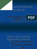 Balanced Scorecard en Salud