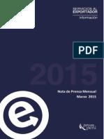 Informe Promperu MARZO 2015
