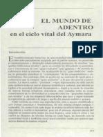 Albo, Xavier - El mundo de adentro ciclo vital del aymara.pdf