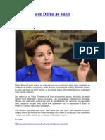 Entrevista Dilma Rousseff.valor Economico